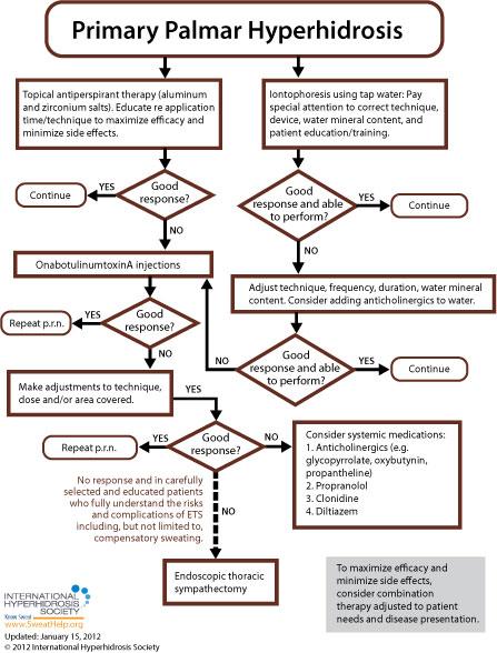Primary Focal Palmar - International Hyperhidrosis Society